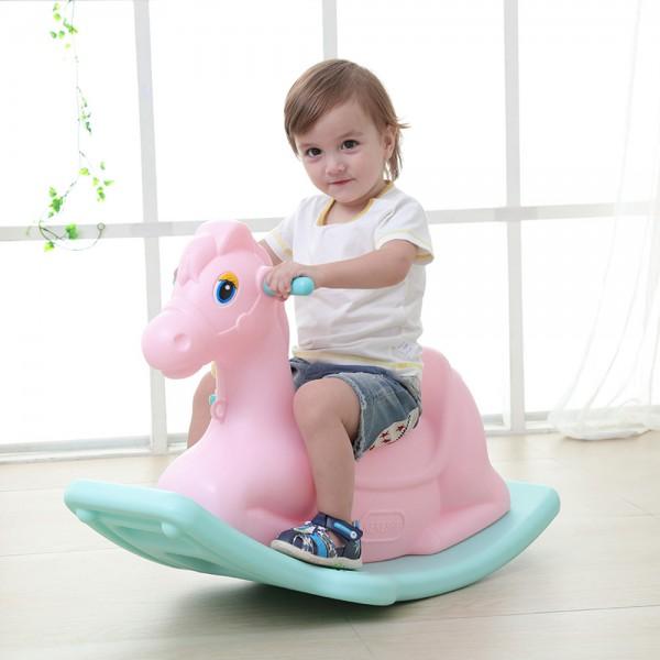 Dečija klackalica u obliku konjića - pink