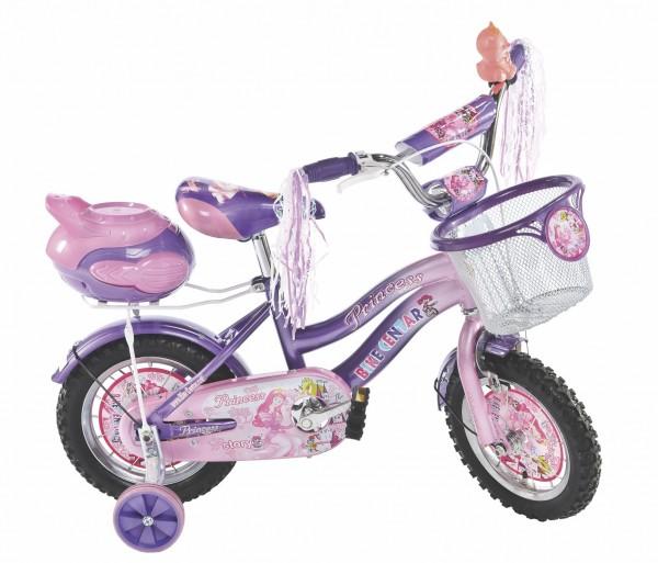 Bicikla za decu sa pomoćnim točkovima Princess Light 16''