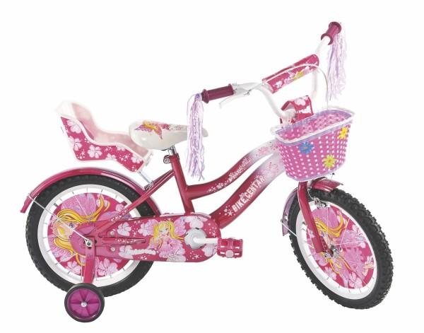 Bicikla za decu sa pomoćnim točkovima Princess Magic 16''