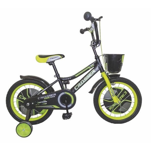 Bicikla za decu sa pomoćnim točkovima Crosser 16''