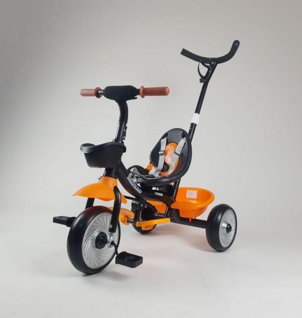 Tricikl-guralica za decu Model 429 Narandžasti