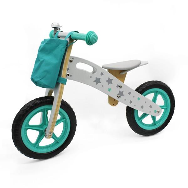 Bicikla za decu Balance bike 755 zeleni drveni