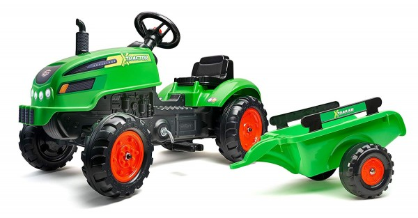 Traktor X zeleni
