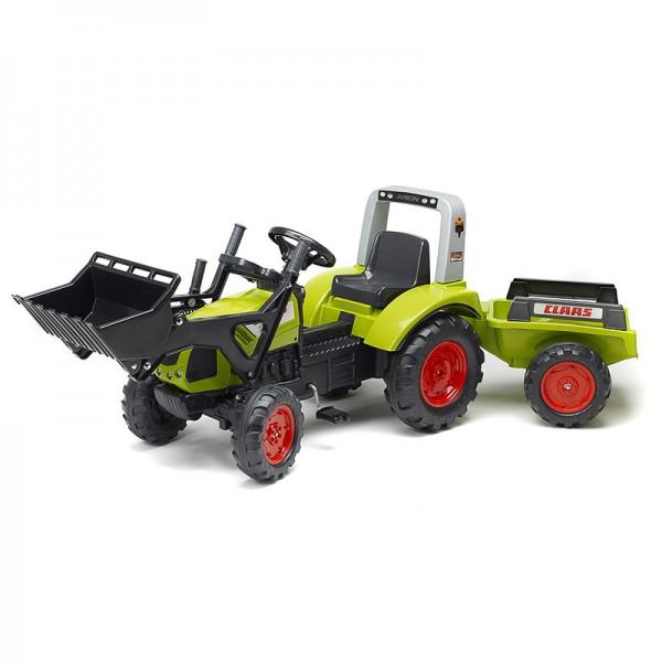 Falk Dečiji Traktor na pedale sa prikolicom Arion 430