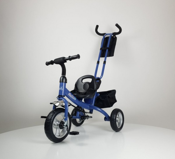 Tricikl-guralica Model 432 plavi bez tende