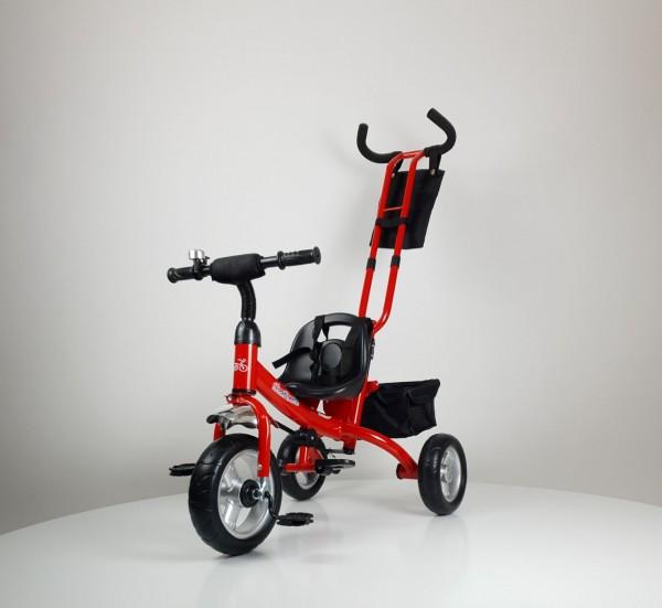 Tricikl-guralica Model 432 crveni bez tende