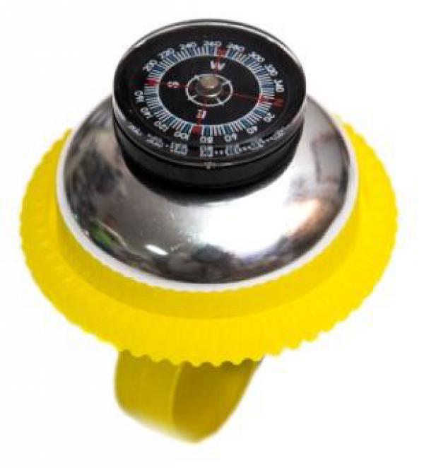 Zvonce kompas žuto