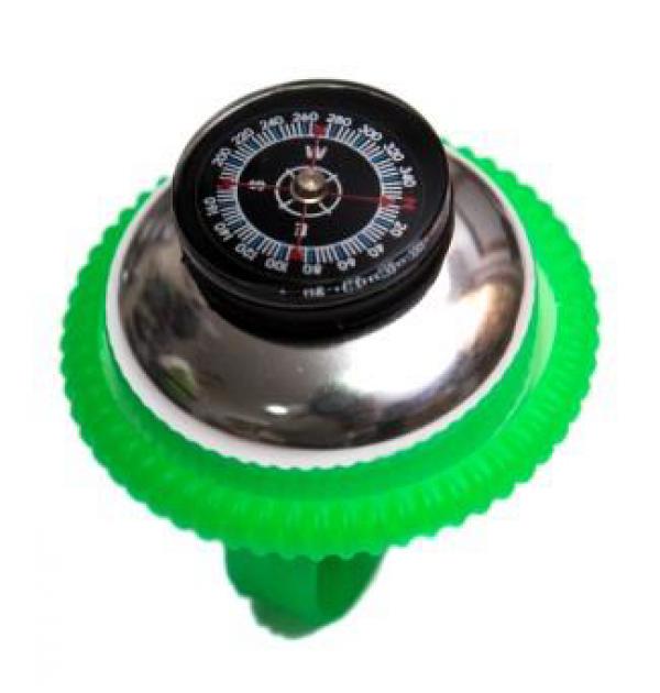 Zvonce kompas zeleno