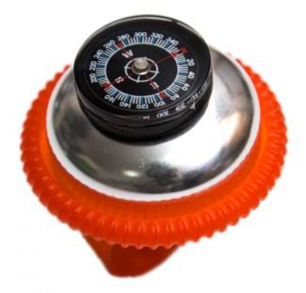 Zvonce kompas crveno
