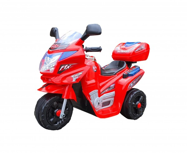 Dečiji motor na akumulator Model 104 crveni
