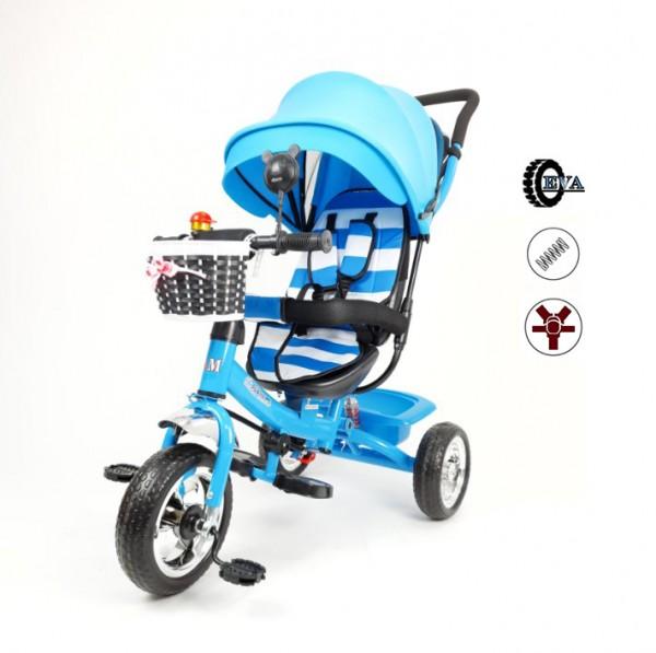 Tricikl-guralica Playtime Meridian za decu 406 plava