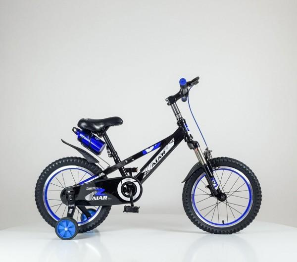 Bicikla za decu sa pomoćnim točkovima 16'' Model 714 plava