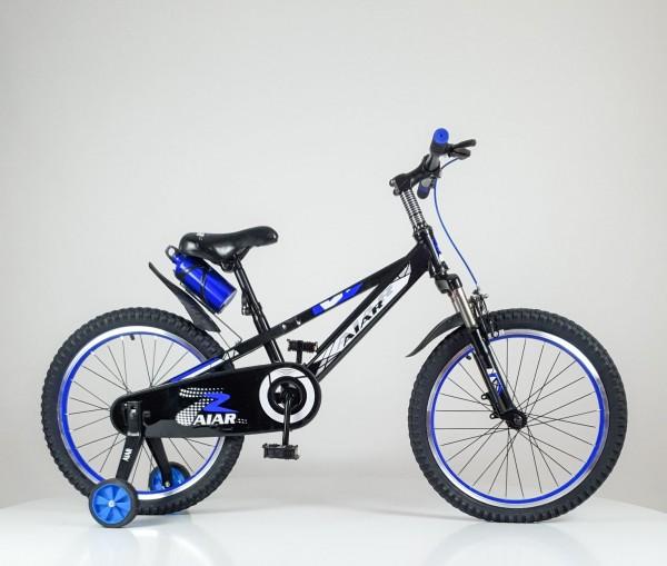 Bicikla za decu sa pomoćnim točkovima 20'' Model 714 plava