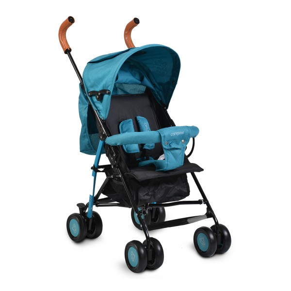 Kolica za bebe Diamond sa podesivim naslonom u 3 položaja Plava