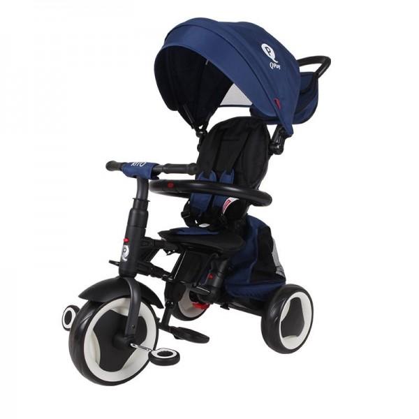Tricikl-guralica za decu 3u1 QPlay ''Rito Plus'' Plava