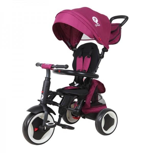 Tricikl-guralica za decu 3u1 QPlay ''Rito Plus'' ljubičasta
