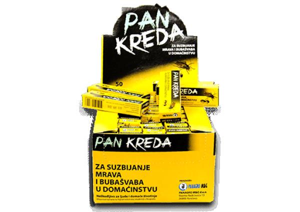 PANKREDA - Zaštitno sredstvo protiv mrava i bubašvaba u domaćinstvu i javnim objektima