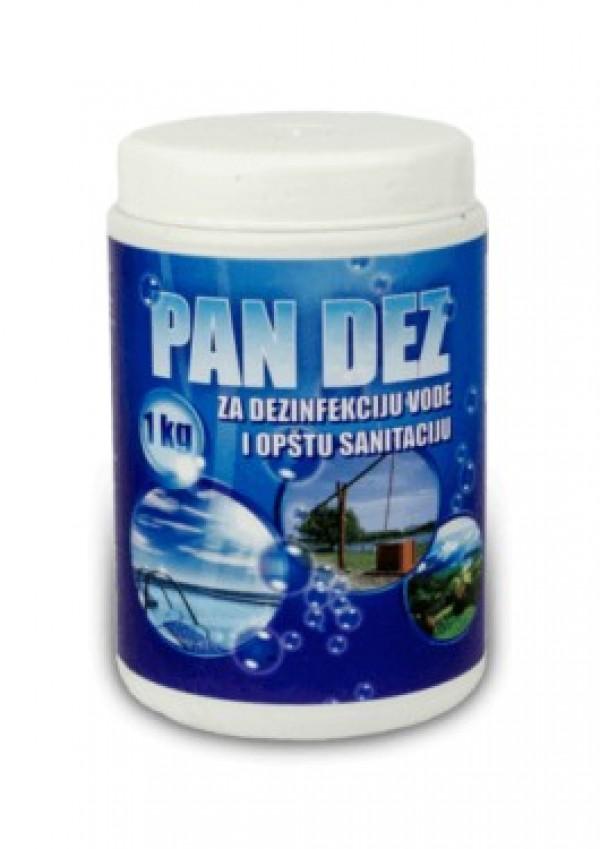 PAN DEZ - Hlorni preparat za dezinfekciju vode i površina 100g
