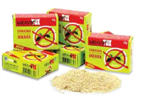 MRAVOTOX - Insekticid u obliku granula za efikasno suzbijanje mrava  20g
