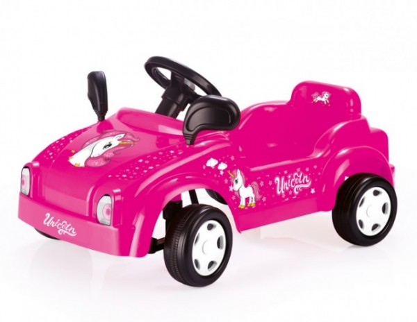 Dolu Unicorn auto na pedale za devojčice