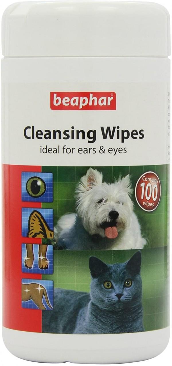 Beaphar Cleansing wipes - vlažne maramice za pse i mačke