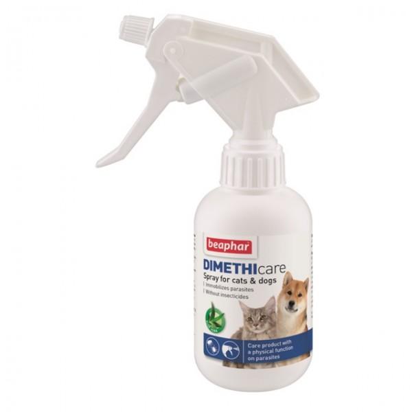 Beaphar Dimethicare spray cat&dog - sprej za negu kože i dlake