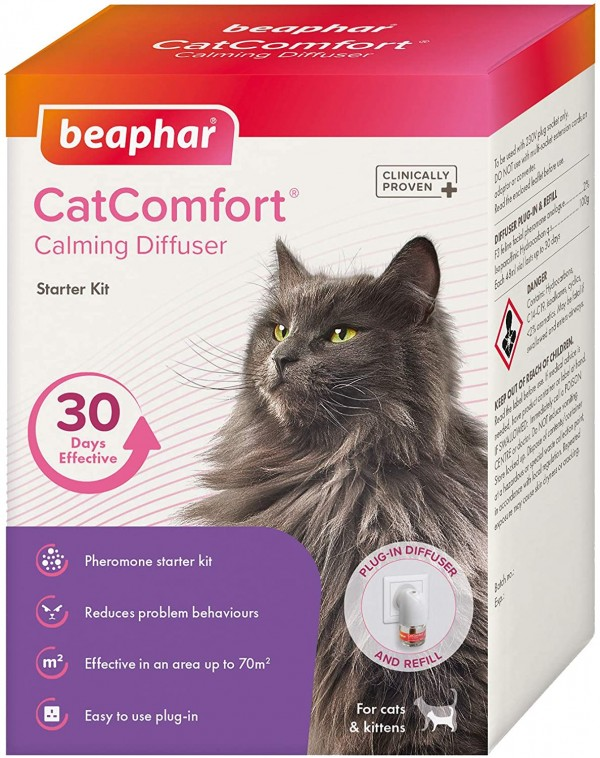 Beaphar Catcomfort  diff starter kit 30 - sprej za smirenje mačaka svih starosti