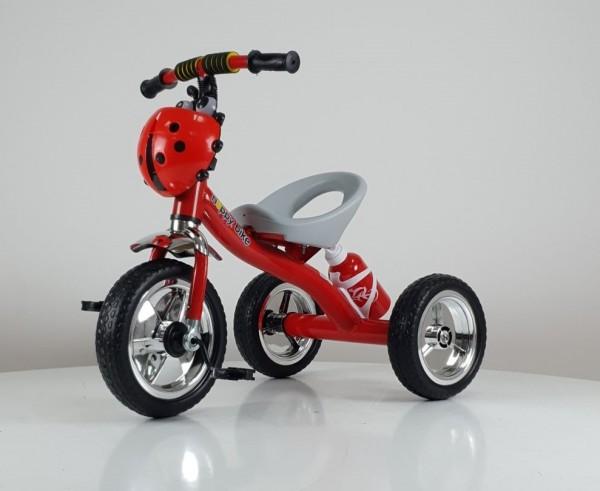 Tricikl bez tende Happybike, model 434 crveni