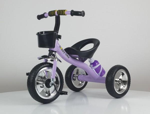 Tricikl bez tende Happybike, model 434 ljubičasti