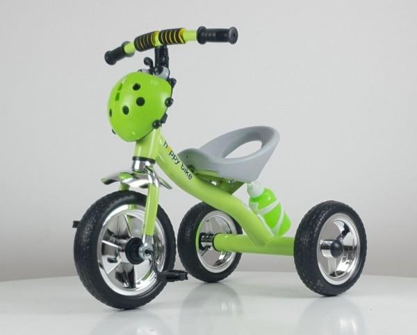 Tricikl bez tende Happybike, model 434 zeleni