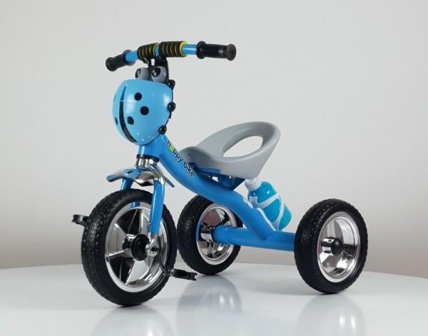 Tricikl bez tende Happybike, model 434 plavi