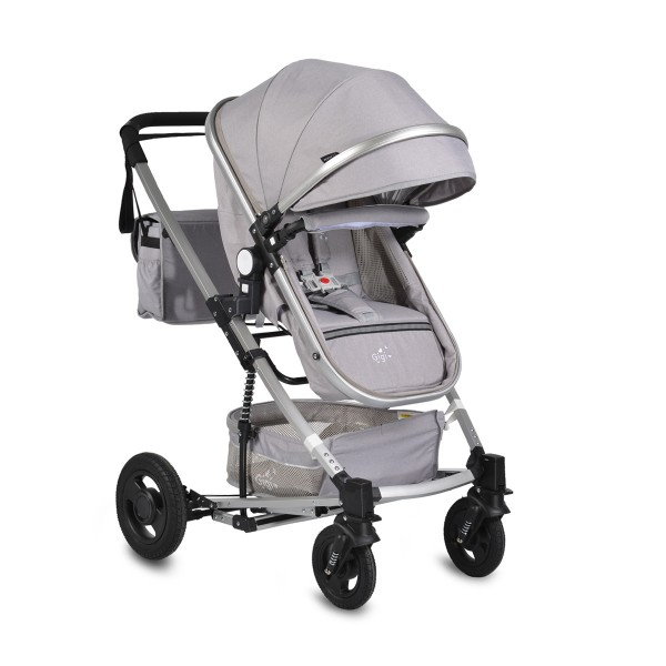 Kolica za bebe Gigi svetlo siva sa mehanizmom za ljuljanje