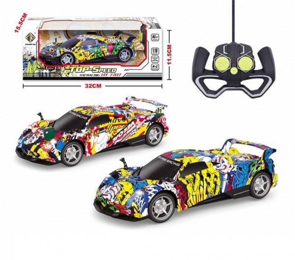 Igračka Trkački automobil Top Speed na daljinski