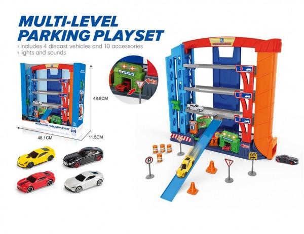 Igračka Parking set sa svetlosnim efektima