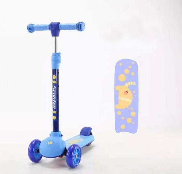 Trotinet za decu Model 651 plavi NOVO