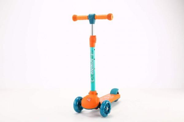 Trotinet za decu Model 651 narandžasti NOVO