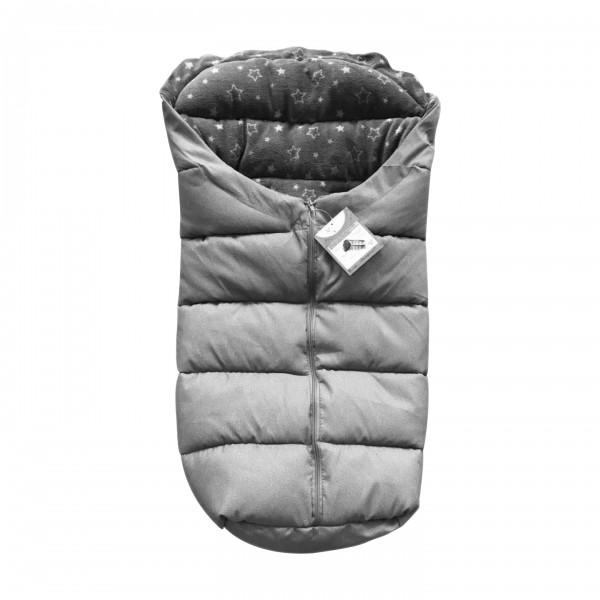 """Zimska vreća za spavanje za kolica""""Cuddle"""" siva"""