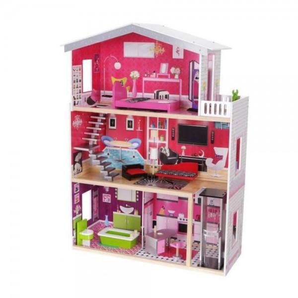 Drvena igračka Kuća za lutke Isabella