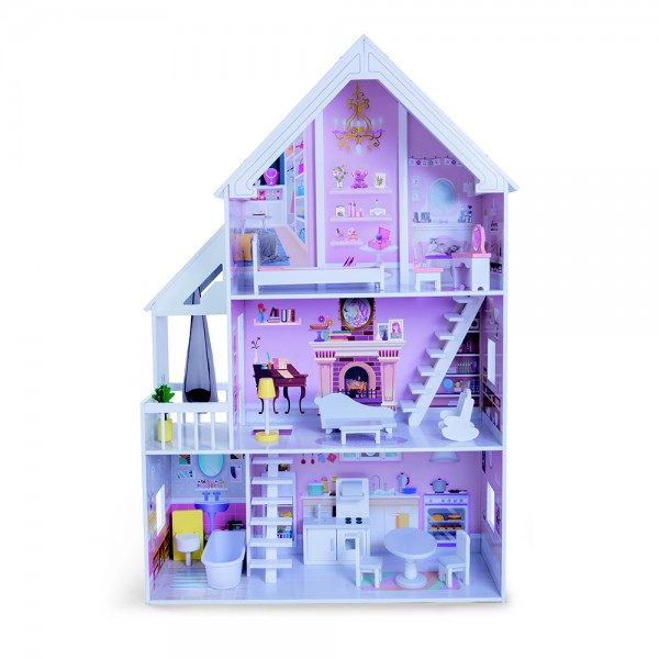 Drvena igračka Kuća za lutke Cinderella