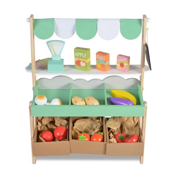 Drvena igračka Supermarket (pijaca)