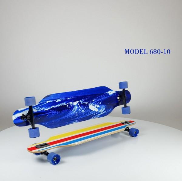 Skejtbord za decu Longboard, dezen 10