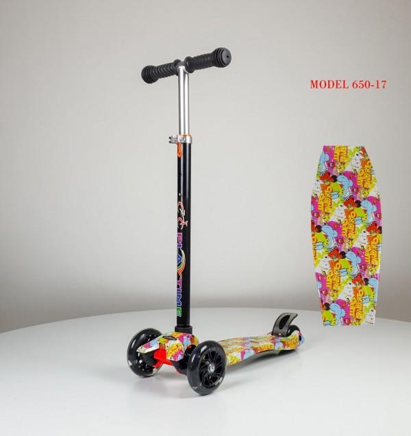 Trotinet za decu sa svetlećim točkovima Motiv 17