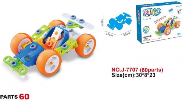 Hoogar konstruktori za decu Trkački F1 automobil sa 60 elementa