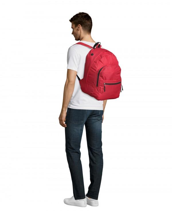 SOLS Dečiji školski ranac, crveni 43cm