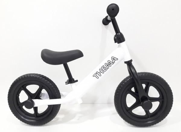 Balance bike - Bicikla za decu bez pedala, bela