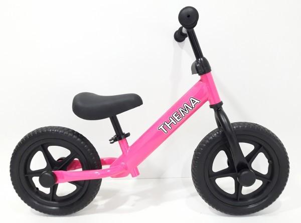Balance bike - Bicikla za decu bez pedala, pink