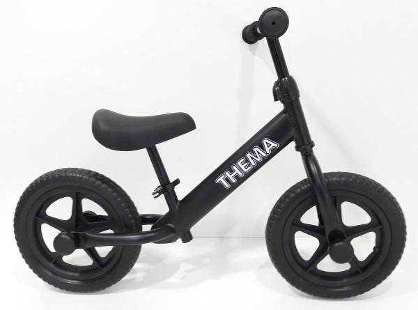 Balance bike - Bicikla za decu bez pedala, crna