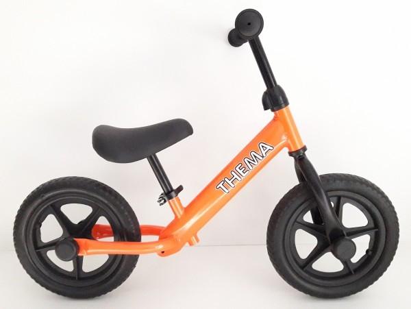 Balance bike - Bicikla za decu bez pedala, narandžasta