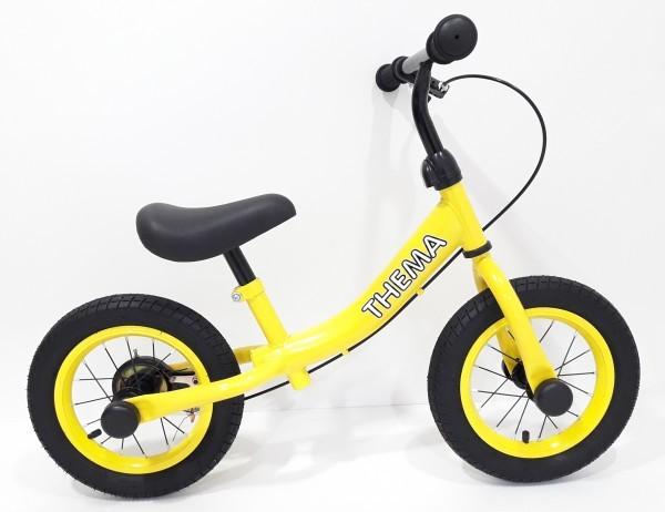 Balance bike - Bicikla za decu sa ručnom kočnicom, žuta