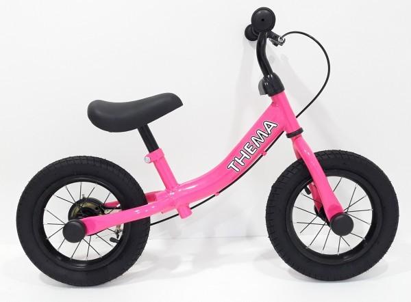 Balance bike - Bicikla za decu sa ručnom kočnicom, pink